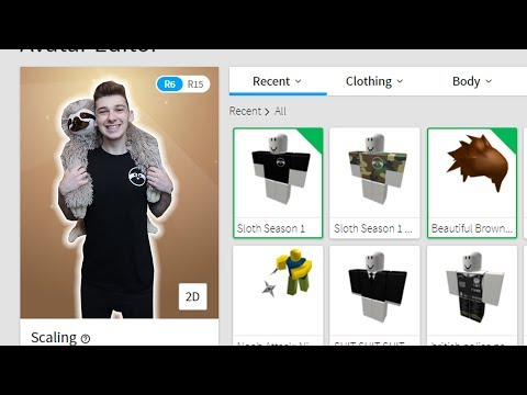 BECOMING MY ROBLOX AVATAR IRL! (Roblox)