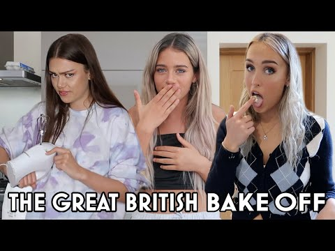 the great british bake off ft. Olivia Neill and Flossie