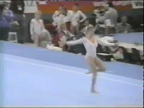 1989 World Gymnastics Championships - Women's Team Optionals, Canada (SI HV)