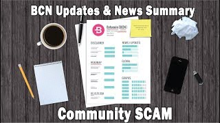 Bytecoin [BCN] Updates & News Summary & Community SCAM // Bytecoin Guru