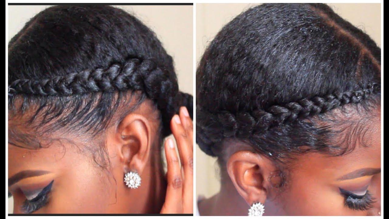 Two Braids Hair Tutorial - YouTube