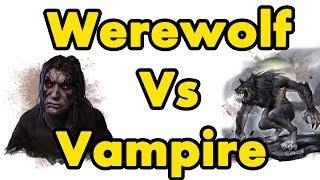 ESO: Which is better Vampire or Werewolf?