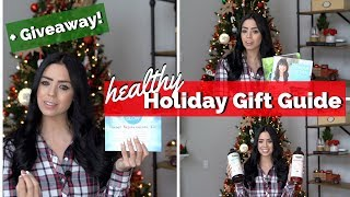 Christmas gift guide 2018 | health & wellness + holiday giveaway!