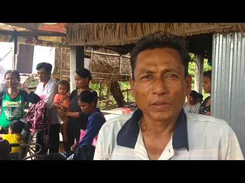 Sambo healed of blurred vision, emphysema partially healed in Cambodia