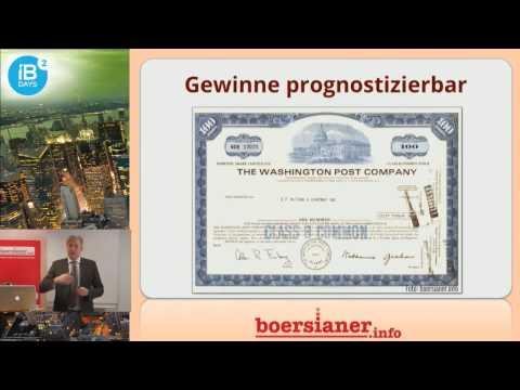 Warren Buffett: erfolgreichster Investor der Welt ☆ Vortrag
