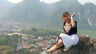 hôm nay em gái H'mông đi chơi trên núi với cảnh đẹp part 3