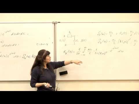30.  Преобразование случайных процессов в линейных системах