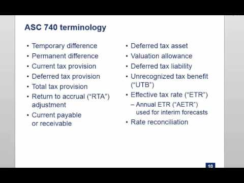 Tax Provision - 2015 Fall BUS225L Class 2 (SJSU MST - Adjunct Prof: Jeff Sokol)