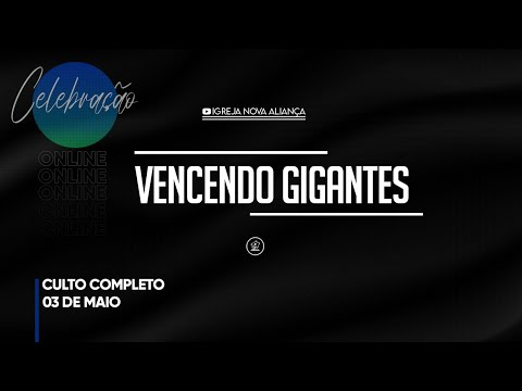 VENCENDO GIGANTES - Pr. Jonatas Braga // 03.05.2020 from YouTube · Duration:  1 hour 18 minutes 28 seconds