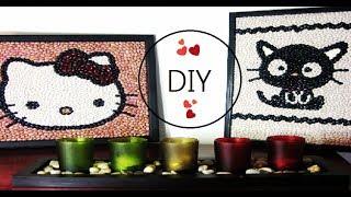 DIY Cuadro de Hello Kitty ❤ | Decora Tu Cuarto | Catlike Thumbnail