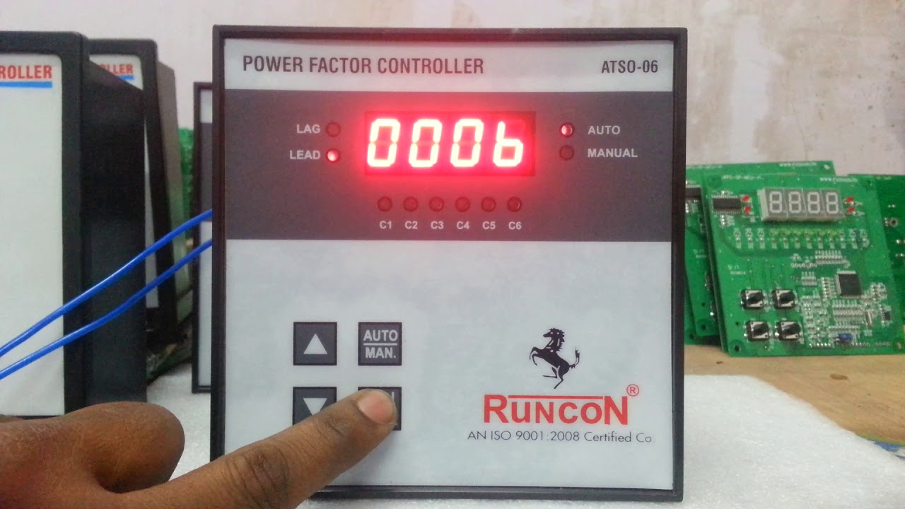 Apfc Relay Programing Automatic Power Factor Correction Working Principle Atso 06 Runcon 9717152559