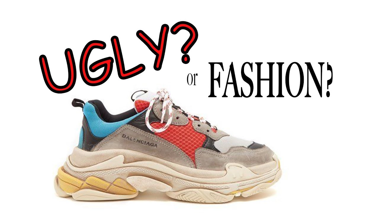 3648bc72a DAD SHOES  Ugly  or Fashion  Ep 2 (Yeezy 500 Balenciaga Triple S ...