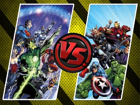 VERSUS: Marvel vs DC Comics