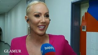 Lepa Brena - Intervju - Glamur - Koncert Marije Serifovic - (Happy TV, 26.05.2018.)