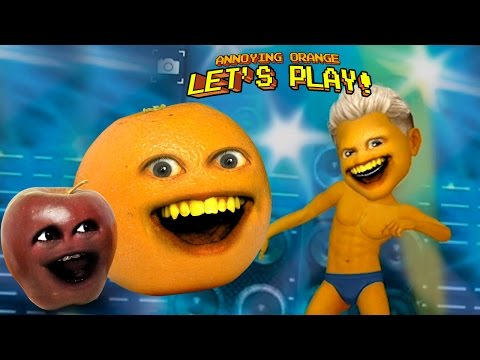 Annoying Orange Plays - MyIdol w/ Midget Apple