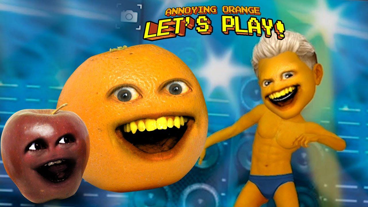annoying orange plays myidol w midget apple youtube