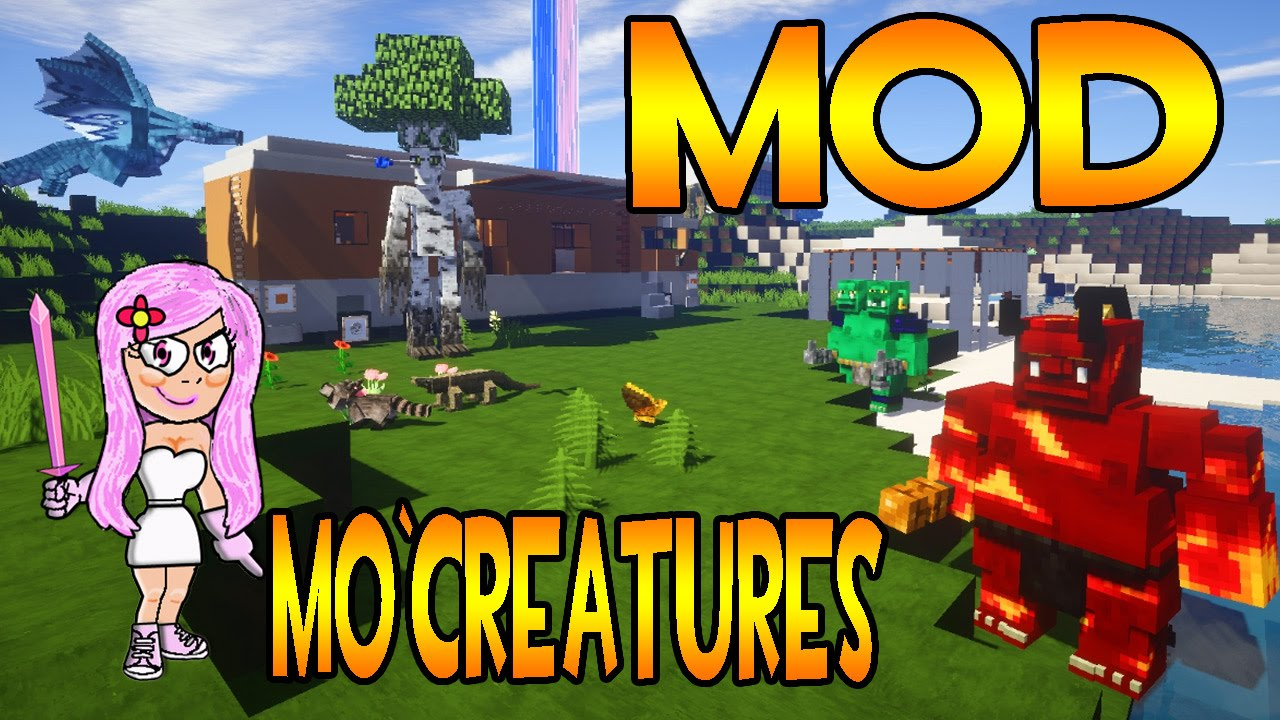 Mod de animales para minecraft mo creatures youtube for Blancana y mirote minecraft