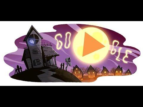 Halloween 2017 - Google Doodle - YouTube