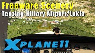 X-Plane 11: Freeware Scenery - Nepal Lukla, Everest Airport