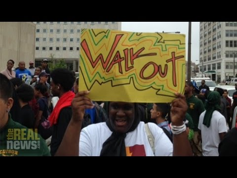 Philly Students Walkout As City Cancels Teachers' Contract