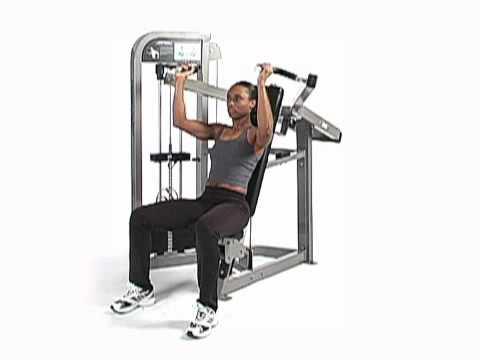 Shoulder Press Machine Life Fitness Pr...