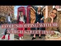 COME SHOPPING WITH ME - ZARA, RIVER ISLAND, TOPSHOP, NEW LOOK AND STRADIVARIUS HAUL   2017
