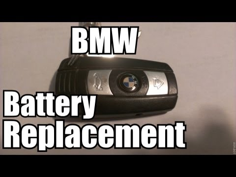 bmw replacing the battery for comfort access key youtube. Black Bedroom Furniture Sets. Home Design Ideas