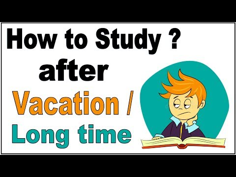 How to start reading after vacation/long time ? [Hindi - हिन्दी] ✔
