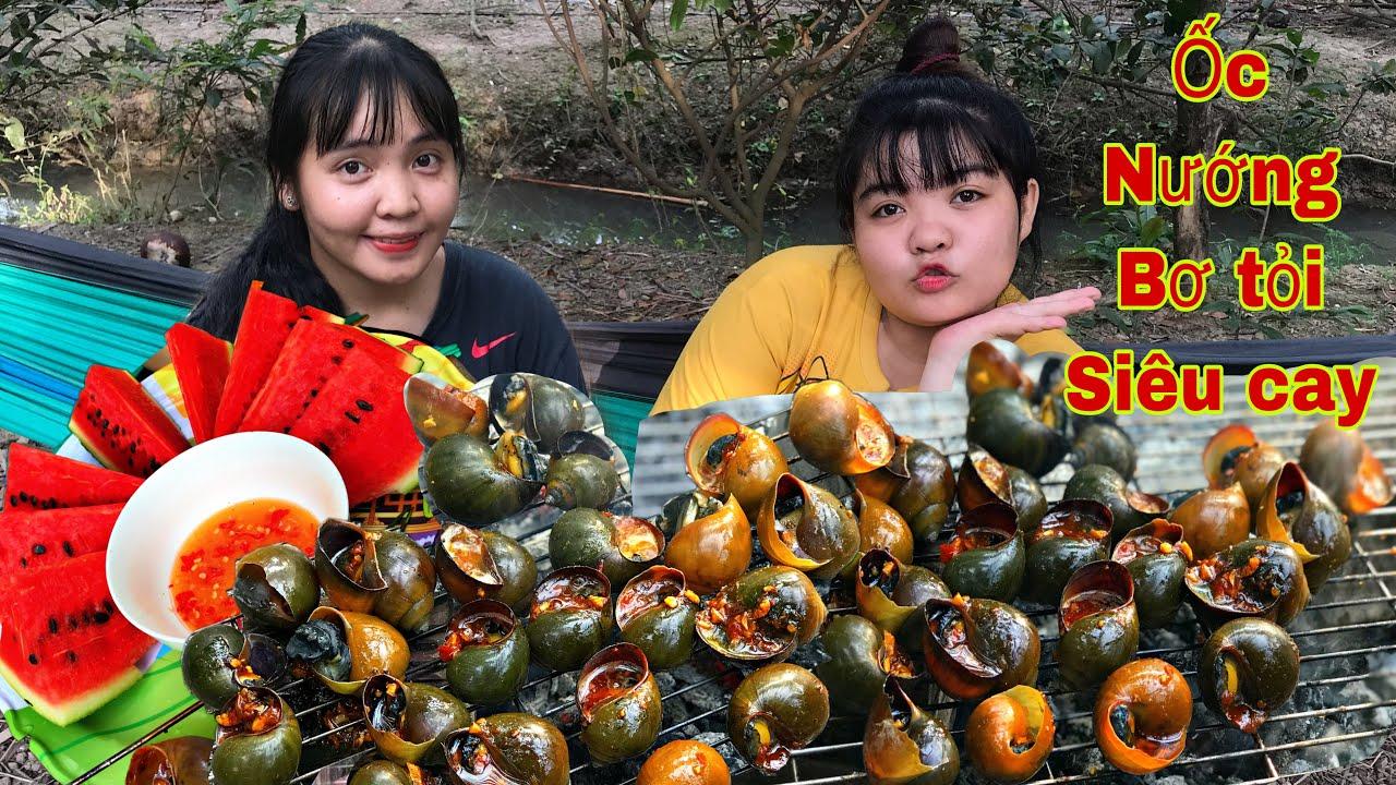 Huỳnh Như Vlogs Làm Ốc Bươu Nướng Bơ Tỏi Siêu Cay Béo Ngậy Ngon Không Tưởng Ăn Cùng Như Ú Tv
