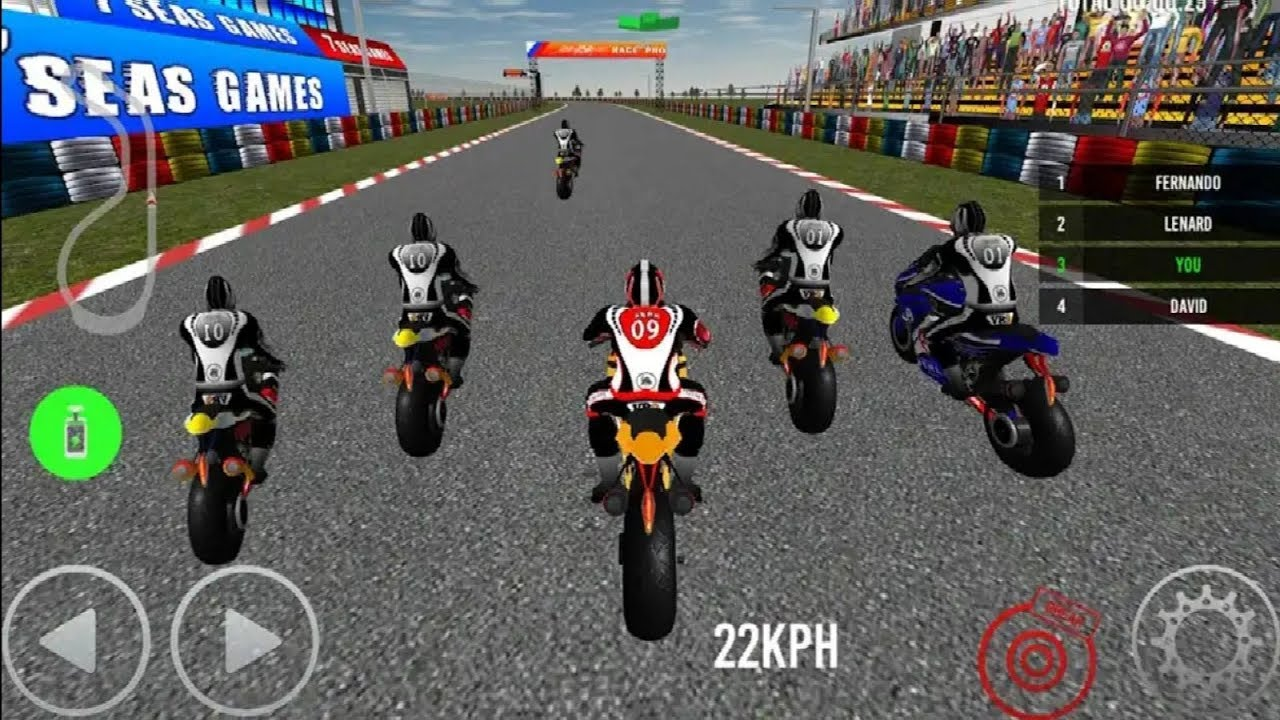 bike games racing motorcycle race 3d dirt extreme android play