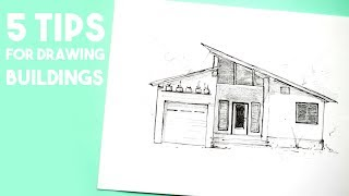 How I Draw Buildings · 5 Top Tips