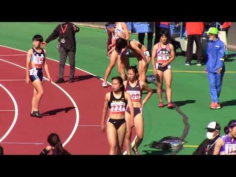 2020全国高校陸上 女子100m決勝