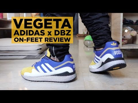 ON FEET REVIEW: ADIDAS x DBZ VEGETA ULTRA TECH! YouTube