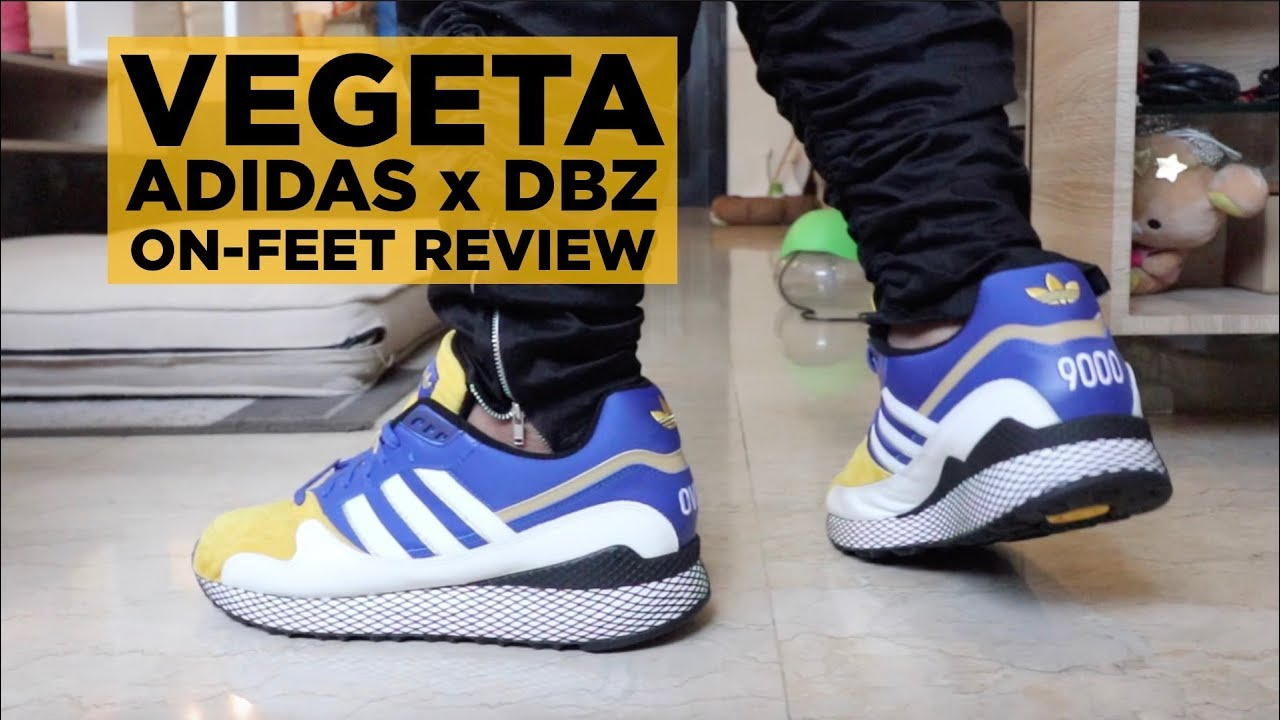 hot sale online 84e87 578a4 ON-FEET REVIEW ADIDAS x DBZ VEGETA ULTRA TECH!