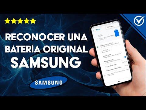 Cómo Saber o Reconocer si una Batería Samsung es Original Fácilmente