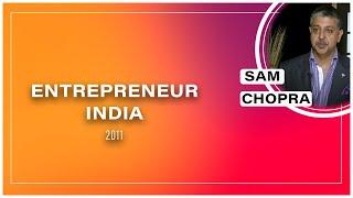 Sam Chopra at Entrepreneur India 2011