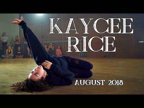 Kaycee Rice - August 2018 Dances