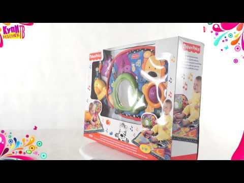 Развивающий коврик Fisher Price Блестящие основы V3711 из раздела Детские игрушки...