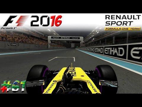 F1 2016 KARRIERE #61: Das große Finale bei Renault!