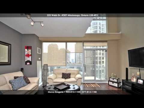 225 Webb Drive (Solstice) 2 Storey Luxury Condo Loft Downtown Mississauga, Ontario