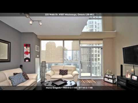 225 Webb Drive (Solstice) 2 Storey Luxury Condo Loft Downtown Mississauga, Ontario