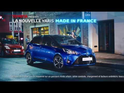 Pub nouvelle Toyota Yaris (France, 2017)