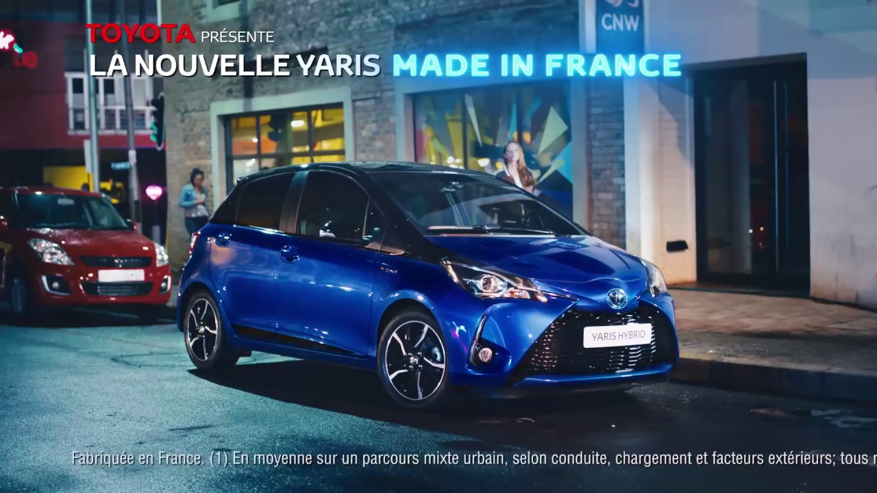pub nouvelle toyota yaris france 2017 youtube. Black Bedroom Furniture Sets. Home Design Ideas