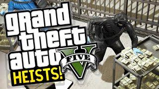 GTA 5 Heist : Prison Break! LIVESTREAM Grand Theft Auto 5!