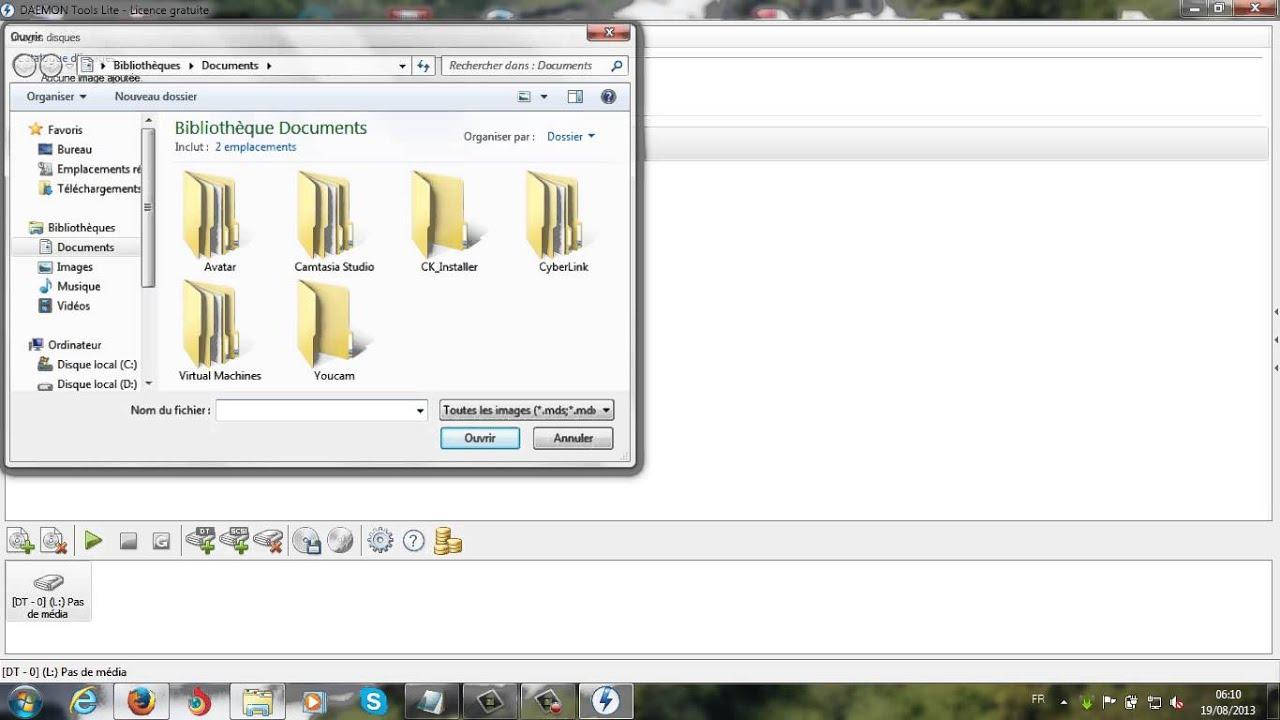 installer le système d'exploitation sans cd