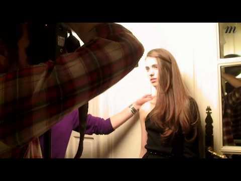 Making of : Andie MacDowell et Sarah Margaret - Madame Figaro