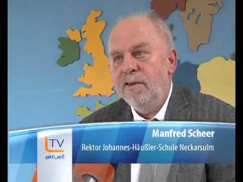 L-TV - Fernsehen zum Pakt Zukunft Auszeichnung Johannes-Häußler-Schule Neckarsulm