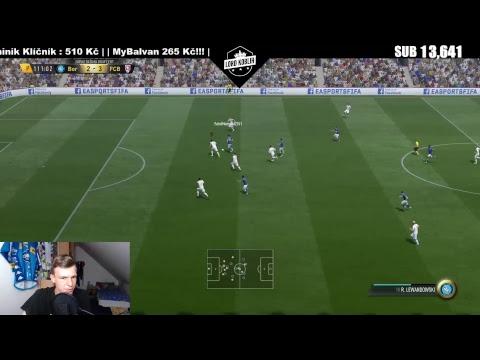 LIVE | FIFA 17-Ultimate Team-Vítězství V Draftu! :) | WEBCAM!!! :) | Lord Koblih | CZ/SK