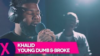 Khalid - 'Young Dumb & Broke' (Capital XTRA Live Session)