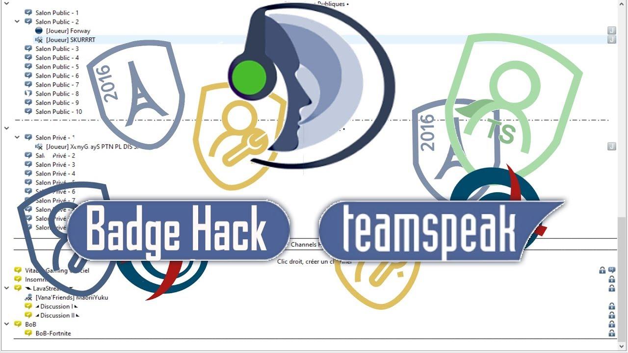 teamspeak 3 badge hack 2018 french working free hd youtube. Black Bedroom Furniture Sets. Home Design Ideas